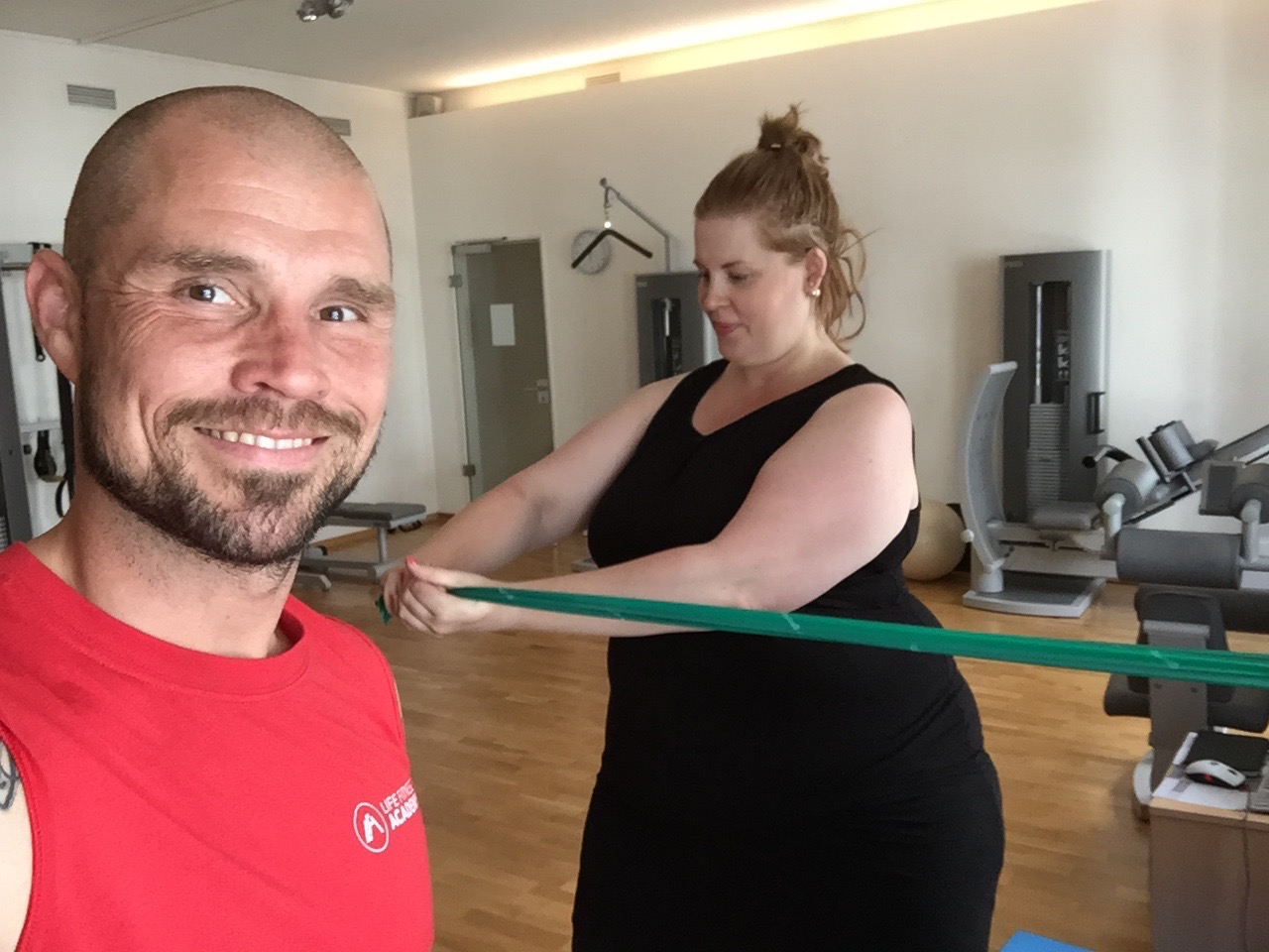 Plus Size Fitness Motivation von Marc Rohde