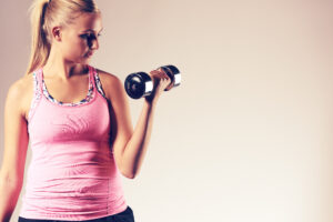 Krafttraining und Workout zum Abnehmen