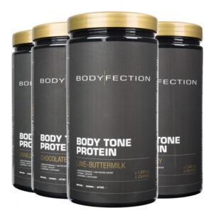 Body Tone Protein Pulver, hochwertiger Proteinshake unterstützt die Fettreduktion